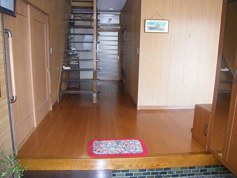 一般住宅床フローリング張替え工事